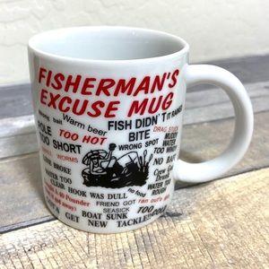 Other - Fisherman's Excuse Funny Mug